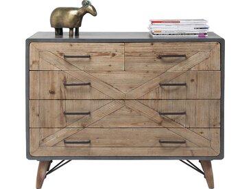 Commode X Factory 5 tiroirs Kare Design