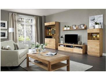 Meuble TV en chêne, 3 tiroirs, 3 niches, Gamme Nice
