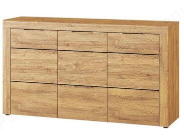 Buffet en bois,, portes, 3 tiroirs, Gamme Naples