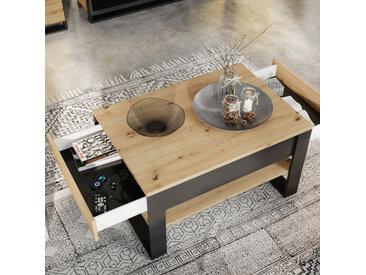 Table basse avec deux tiroirs , Gamme sven