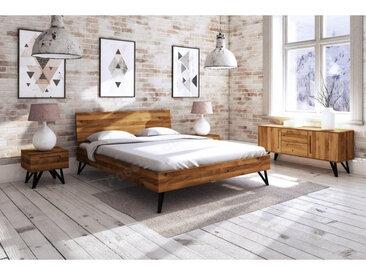 Lit bois massif en chene, Gamme vigo 160x200