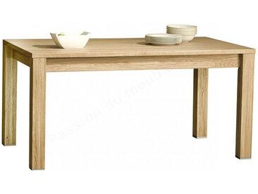 Table a diner en chêne et à rallonge, Gamme nice Chêne naturel