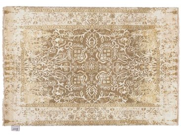 Ramesh - noué main:  Tapis oriental noue, fabrique a partir de soie de laine