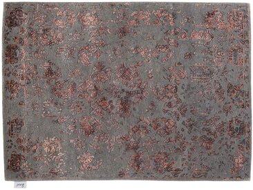 Jithin - tufté main:  Tapis persan luxueux, design moderne, en laine et soie