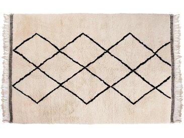 Aicha: 15cm x 20cm Tapis Beni Ouarain du Maroc, Tapis Berbère de l'Atlas Avec Motif Diamant, Tapis Marocain, Acheter en Ligne
