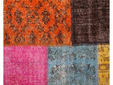 Tapis patchwork vintage personnalisé: 120cm x 170cm tapis vintage personnalisé, tapis de patchwork dans ses propres couleurs