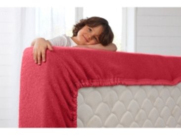 Couverture 1 pers : 90x190 cmframboise Couverture laine forme housse