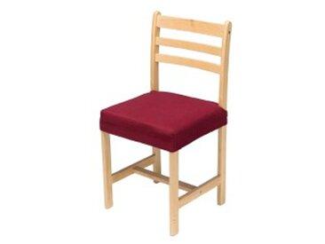 Dessus de chaise : 45x45cmbordeaux  Housse chaise extensible