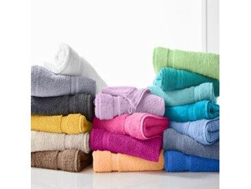 Maxi drap de bain : 90x180cmanthracite  Eponge unie confort moelleux