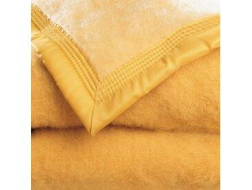 Couverture 2 pers : 240x260 cmmiel  Couverture laine 1er prix 350g/m2