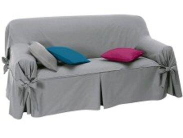 Housse fauteuilbleu paon  Housse canapé nouettes préformée bachette