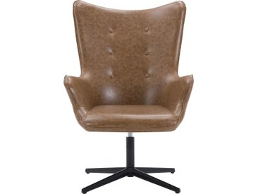 Fauteuil de bureau Billy marron