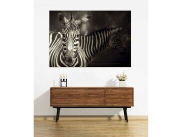 Tableau en verre acrylique 130 x 90cm - Zebra
