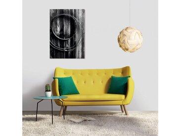 Tableau en verre acrylique 50 x 70cm - Blacky