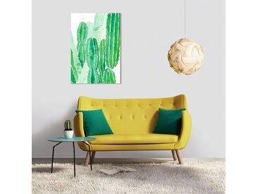 Tableau en verre acrylique 50 x 70cm - Cactus