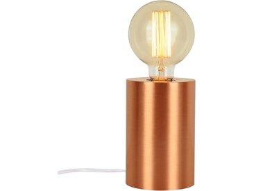 Lampe à poser tactile en métal finition cuivre (ampoule incluse) - Héra