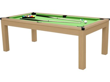 Table transformable rectangulaire multi jeux 3 en 1 ping pong et billard