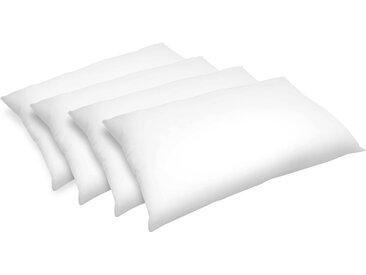 Oreiller moelleux synthétique 50x70 cm (lot de 4) - Confort