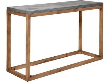 Console en béton et structure en bois d'acacia - Savannah