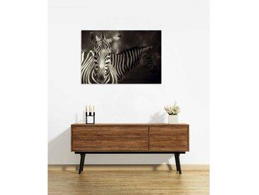Tableau en verre acrylique 90 x 60cm - Zebra