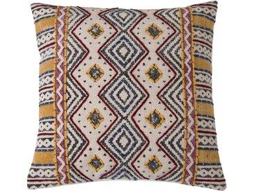 Housse de coussin ethnique en tissu coloré - Tolaga