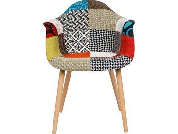 Chaise à motifs patchwork - Katrina