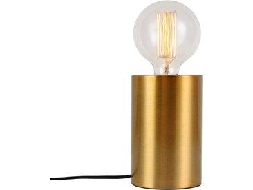 Lampe à poser tactile en métal finition dorée (ampoule incluse) - Héra