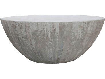 Table basse ronde en béton - Rumba