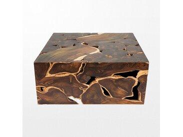 Table basse en bois de 100 x 43 x 100 cm