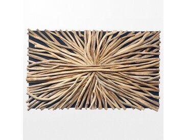 Tableau chic avec superposition de branche en bois ethnique