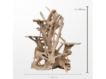 Sculpture en bois moderne alliant esthétisme et utilité de 120 x 170 cm