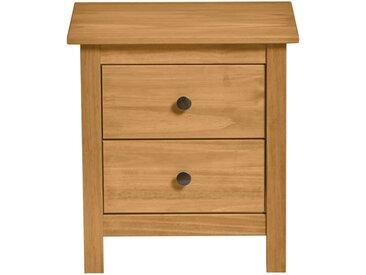 Table de chevet 2 tiroirs Naturel - CHOUET