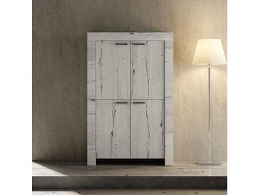 Vaisselier 4 portes Chêne blanchi - VERONE