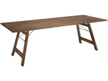 Table de repas pliante Bois acacia - NADANG