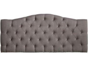 Tête de lit 160 cm capitonnée Gris - SLAAP