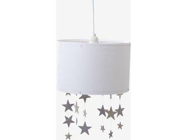 Abat-jour étoiles à suspendre Pluie d'étoiles blanc/gris