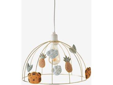 Abat-jour pour suspension cage à oiseaux HANOÏ gold