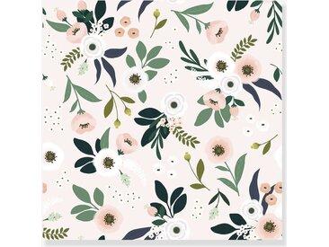 Papier peint intissé Lilipinso fleurs sur fond clair