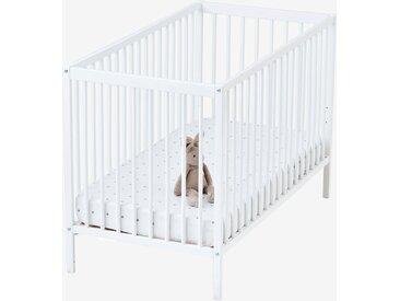 Lit bébé à barreaux Poupon blanc