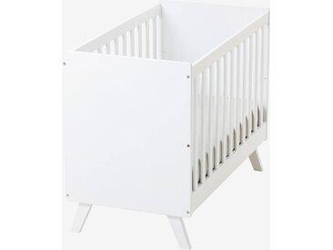 Lit bébé transformable à barreaux LIGNE MADISON blanc