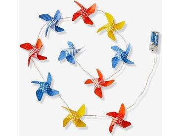 Guirlande lumineuse moulins à vent multicolore