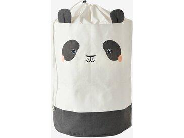 Panier à linge Panda beige