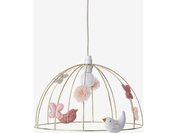 Abat-jour pour suspension Cage à oiseaux doré