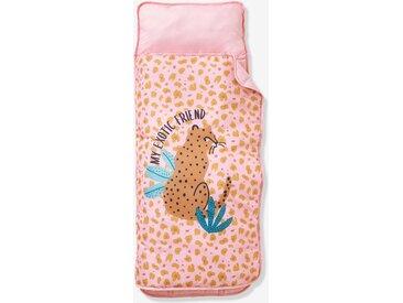 Cosy Wrap en polyester avec oreiller intégré LEOPARD rose / multicolore