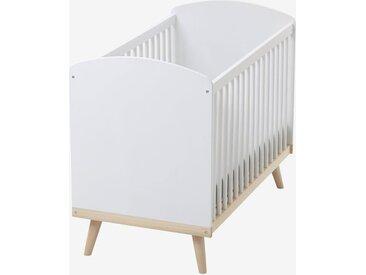 Lit bébé à barreaux LIGNE CONFETTI blanc