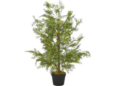 Plante artificielle avec pot Cyprès Vert 90 cm - vidaXL