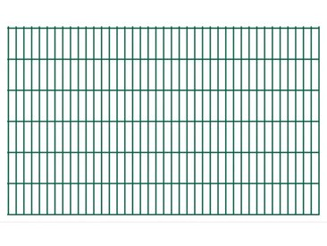 Panneaux de clôture de jardin 2D 2,008x1,23 m 36 m total Vert - vidaXL