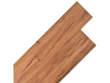 Planche de plancher PVC 5,26 m² 2 mm Orme naturel - vidaXL