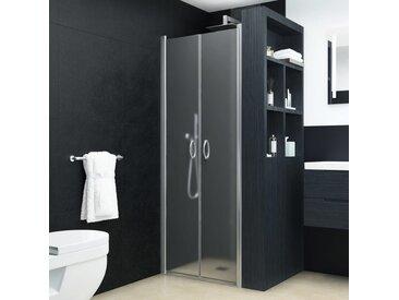 Portes de cabine de douche ESG dépoli 90x180 cm - vidaXL