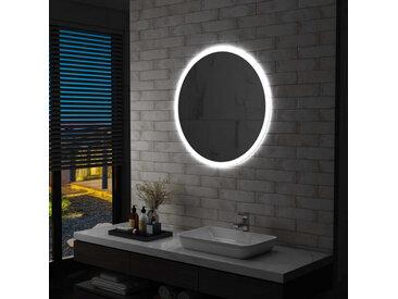 Miroir à LED pour salle de bain 80 cm - vidaXL